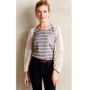 Anthropologie Bolero Lace Shrug